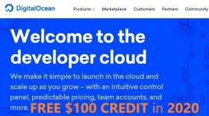Latest DIGITALOCEAN PROMO CODE – FREE $100 CREDIT ON 2020